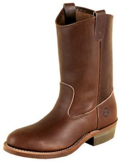 Double H Mens 10 Velva Oiltan Ranch Western Boot (Dark Velva)