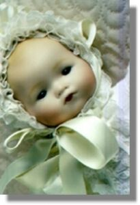 Seeleys Porcelain Doll Mold Dream Baby OED 3046 Brand New