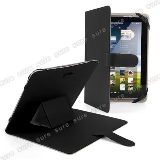 10 10 1 10 2 Tablet PC eBook Reader Leather Case Cover Pouch Black