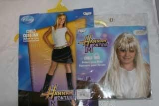 Disney Hannah Montana Costume with Wig Size 7 8