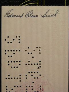 signature, The Lensman Saga by E E Doc Smith, Easton Press, 6 vols