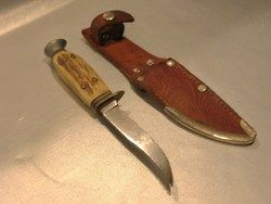 Vintage Othello Germany Stag Handle Hunting Fishing Knife