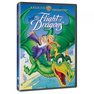 The Flight of Dragons DVD James Earl Jones John Ritter