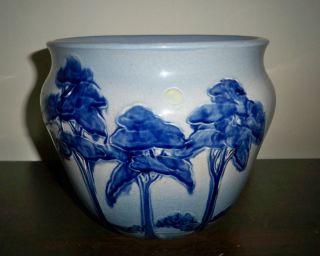 Weller Pottery Jap Birdimal Jardiniere 7 1/2 Excellent 1904