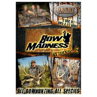TV Season 2 Deer Wild Hogs Turkey Hunting DVD Drury Outdoors