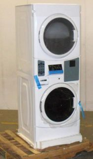 Natural Gas Commercial Stacked Washer Dryer Combo MLG20PRBWW