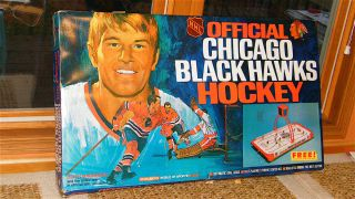 Eagle Coleco NHL City Series Chicago Blackhawks Table Top Hockey Game