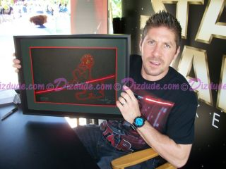 Disney Star Wars Weekends 2012 Ray Park Holding Donald as Darth Maul