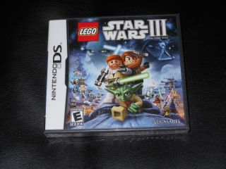 LEGO Star Wars III 3 The Clone Wars ( Nintendo DS ) DSL DSi XL 3DS New