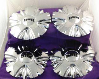 DUB CHROME Custom Wheel Center Cap Caps (SET OF 4) P/N 8070 15
