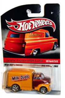 2010 Hot Wheels Sweet Rides 49 Ford C O E Milk Dubs