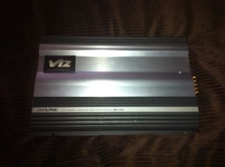 Alpine 4 3 2 Channel subwoofer Drive Power Amplifier Mrv f353