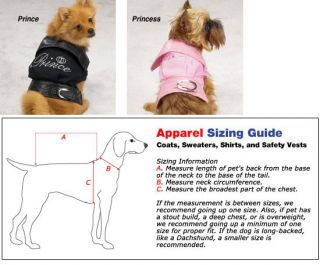 East Side Collection Royalty Coats Cute Prince Princess Dog and Puppy