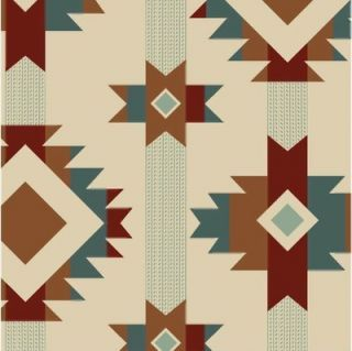 Yards Quilt Cotton Fabric  Blue Hill Salmon Run Western Native
