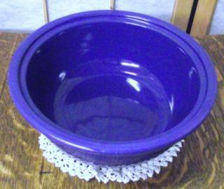 Vintage Fiesta Kitchen Kraft Cobalt Blue Casserole Bowl