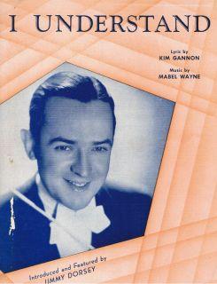 1941 Jimmy Dorsey I Understand