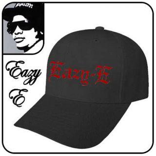 New Eazy E Compton Baseball Hat Black Red Eazy E Cap