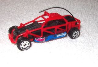 Dune Buggy Matchbox Race Car Hot Rod Red 1998