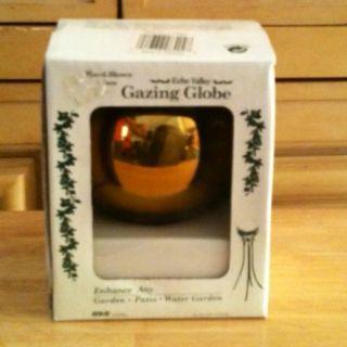 Echo Valley 4 Gold Blown Glass Garden Gazing Globe Ball