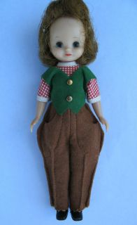 Vintage 1950s American Character 8 Betsy McCall Doll Original Pony