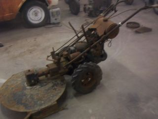 Antique Gravely Walk Behind Tractor