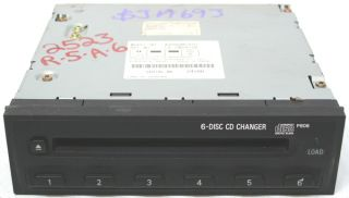 2000 2002 Mitsubishi Eclipse Factory 6 Disc CD Changer for Factory