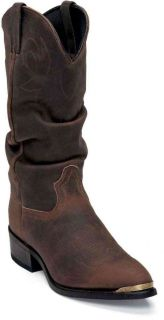 Durango SW542 Mens Crumpled Distressed Tan Western Boot