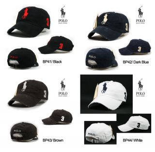 Polo Vintage Ball Cap Tennis Golf Baseball Outdoor Casual Sports Fine