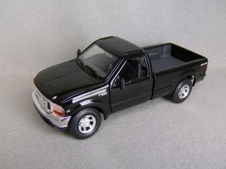 1999 Ford F 350 Super Duty Pickup Truck Black 1 27