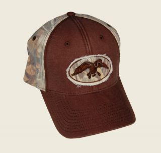 Duck Commander ~ Duck Rip Cap ~ Brown with Camo Max 4 ~ New Hunting