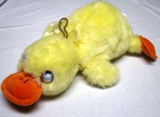 "17"" Duck Hand Puppet with Rolling Eyes"