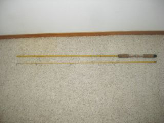 Vintage Wright McGill Eagle Claw Feather Light 6 1 2Ft Fishing Pole FL