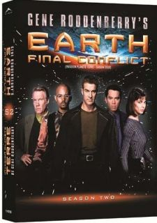 earth final conflict complete second season 2 dvd new