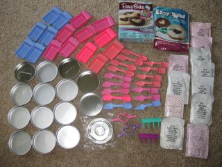 HUGE MIXED LOT Easy Bake Oven Mixes Pans + MORE