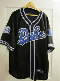 Duke Blue Devils Button Front Jersey Size XXL