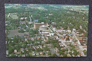 View Main Business Section Doylestown PA Bucks Co Postcard