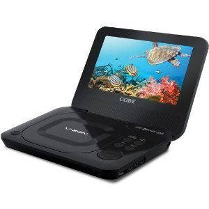 New 2012 Coby Portable Laptop DVD Player 7 Screen TV Video Monitor TF