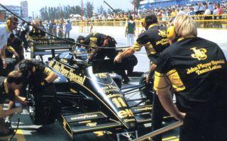 Lotus Renault 98 98T Johnny Dumfries 1986 Ayrton Senna Teammate