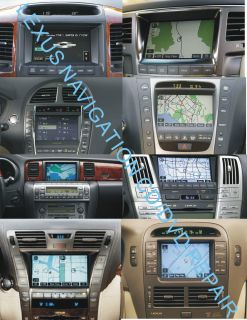 Toyota Lexus Radio Navigation System CD DVD Repair Service