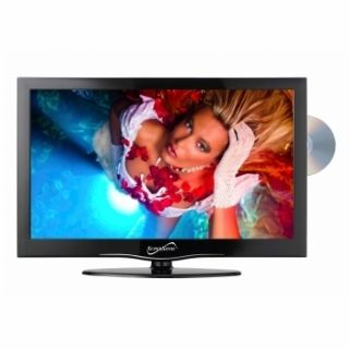 inch Portable 12V Volt DC AC LED HD TV DVD Television Combo New