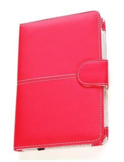 Leather Case Cover for  Kindle 3 eBook Reader Red