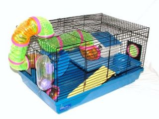 Hamster Cage Billy Fun House Dwarf Gerbil Mouse WOW