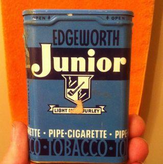 Edgeworth Junior Tobacco Tin Larus Brother Co Pocket Tin Pipe