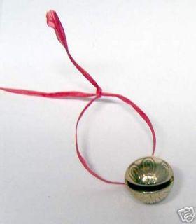 Polar Express Reindeer Bell #1   Solid Brass Bell