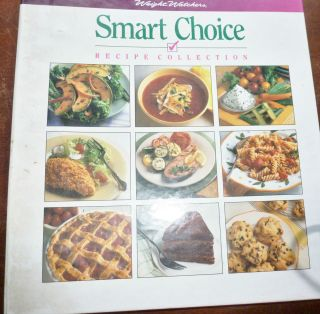 SMART CHOICE RECIPE COLLECTION 3 RING BINDER 1993 TIME LIFE BOOK