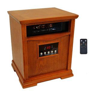 Lifesmart Dynamic Electric Quartz 1500 watt Infrared Heater same as