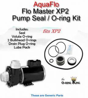 AquaFlo Flo Master XP2 Pool Spa Pump Seal & O ring Kit