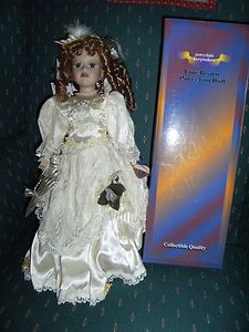 ASHLEY BELLE COLLECTION MARGIE PORCELAIN DOLL NIB