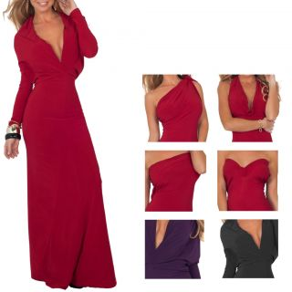 Maxi Evening Dress on Style Full Length Maxi Formal Evening Convertible Dress S M L