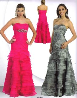 Color Long Pageant Prom Cocktail Dress Homecoming Evening Formal